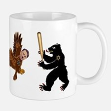 Bear Jew vs. German Hawk Mug
