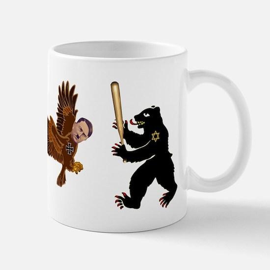 Bear Jew vs. German Hawk Mug