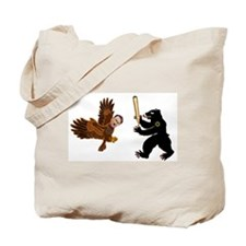 Bear Jew vs. German Hawk Tote Bag