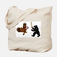 Bear Jew vs. German Hawk Tote Bag