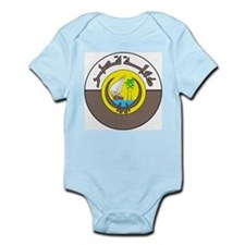 Qatar Coat Of Arms Infant Creeper