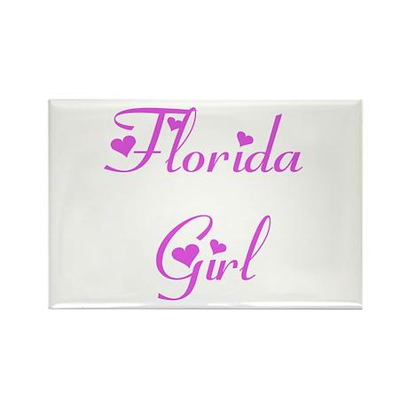 Florida Girl Rectangle Magnet (10 pack)