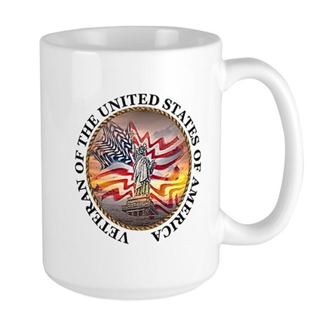 Veteran Of The United States Large Mug
