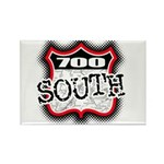 700 South Rectangle Magnet
