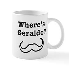 Where's Geraldo? Small Mug