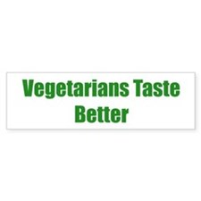 Vegetarians Taste Better