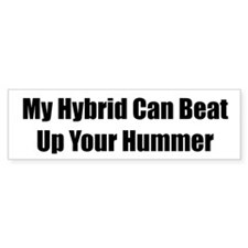 My Hybrid Can Beat Up Your Hummer