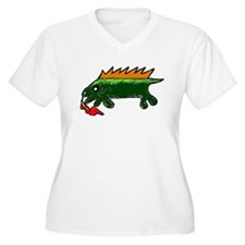 Unique Red dragon fire T-Shirt