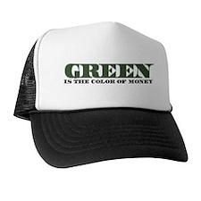 Green Money Trucker Hat