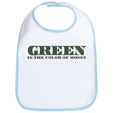 Green Money Bib