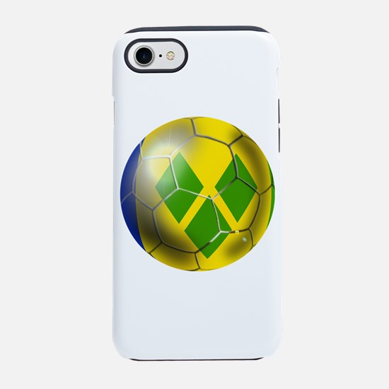 Saint Vincent Soccer Ball iPhone 7 Tough Case