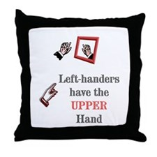 Left-handers have the UPPER hand