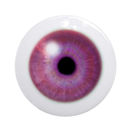 Festive Big Eye Ornament (Round)