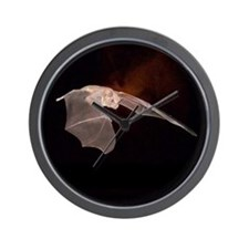 SCOUT BAT Wall Clock (BLACK)