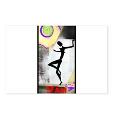 Gril Dance Fame Postcards (Package of 8)