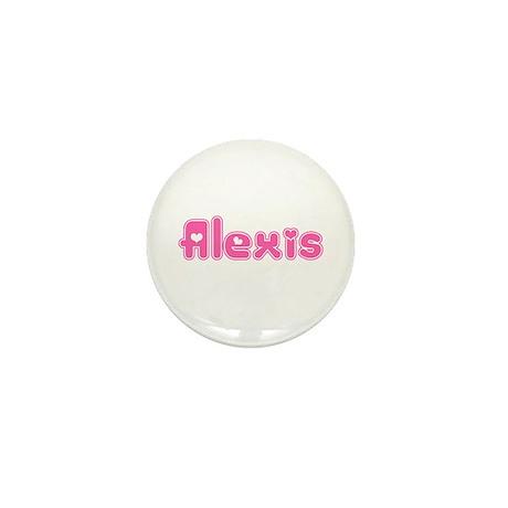 """""""Alexis"""" Mini Button"""