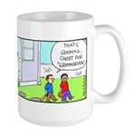 Gramma Grammarian Large Mug