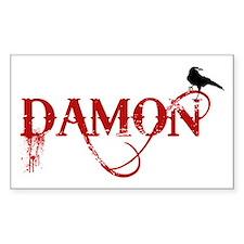 Damon Crow Rectangle Decal