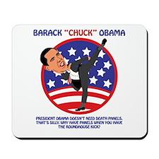 Obama Death Panels Mousepad