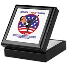 Obama Death Panels Keepsake Box