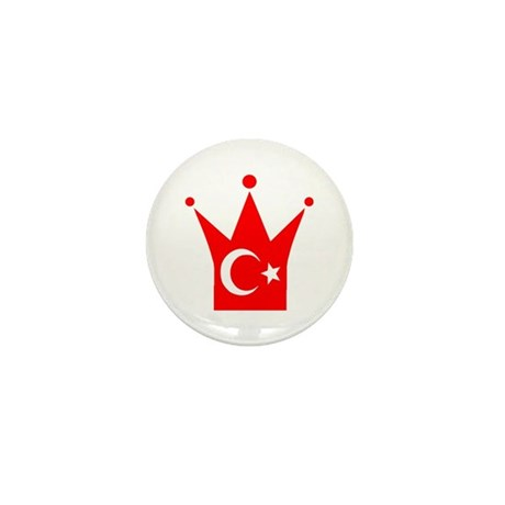 Turkey Mini Button