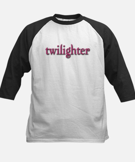 Twilighter (Pink) Kids Baseball Jersey