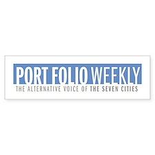 Port Folio Bumper Bumper Sticker
