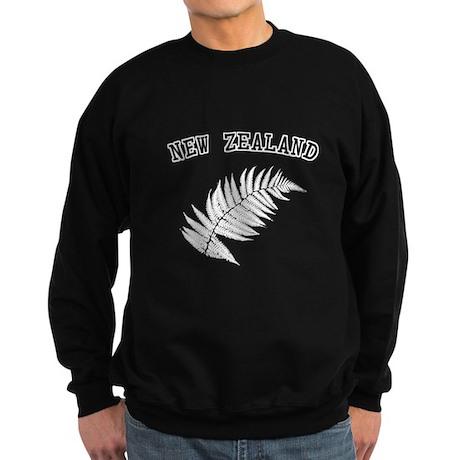 New Zealand Silver Fern Sweatshirt (dark)