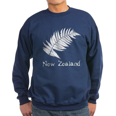 New Zealand Leaves Sweatshirt (dark)