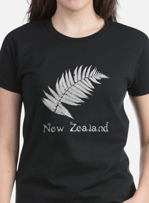 New Zealand Leaves Tee