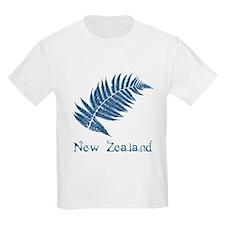 New Zealand Leaves T-Shirt