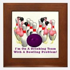Bowling Problem Framed Tile