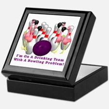 Bowling Problem Keepsake Box