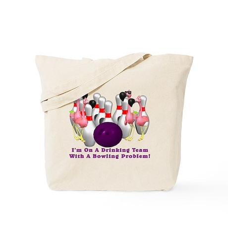 Bowling Problem Tote Bag