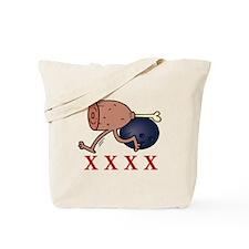 Bowling Hambone Tote Bag
