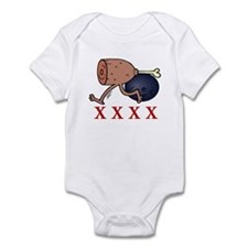Bowling Hambone Infant Bodysuit