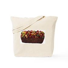 Mrs. Fury in a Fruitcake Tote Bag