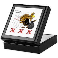 Bowling Turkey Keepsake Box