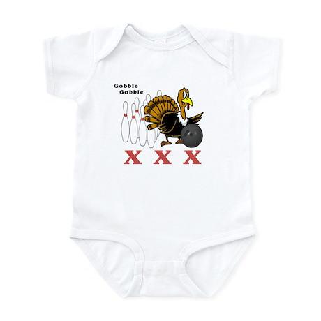 Bowling Turkey Infant Bodysuit