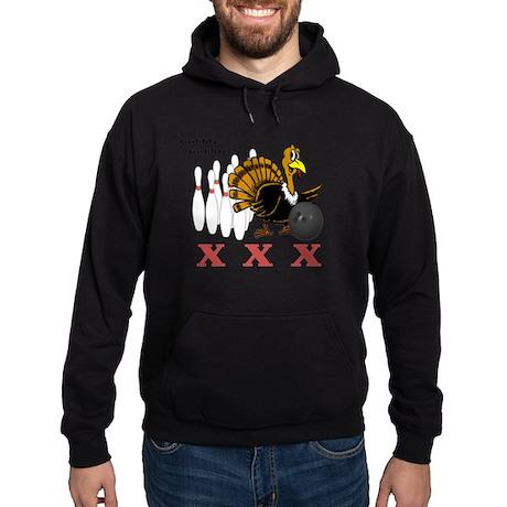 Bowling Turkey Hoodie (dark)