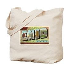 Enid Oklahoma Vintage Post Card Tote Bag
