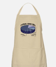 Typical Work Day BBQ Apron