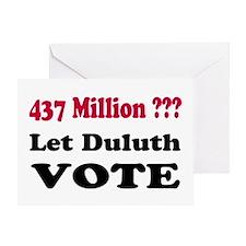 Change Duluth School Board Greeting Card