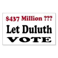 Change Duluth School Board Decal