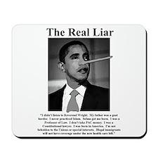 Liar, Liar! Mousepad