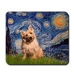 """""""Starry"""" in Starry Night Mousepad"""