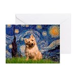"""""""Starry"""" in Starry Night Greeting Cards"""