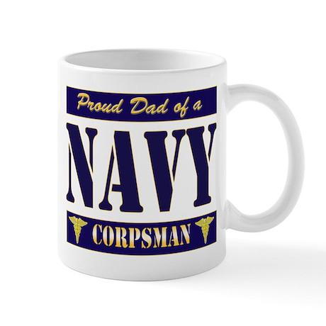 Corpsman Dad Mug