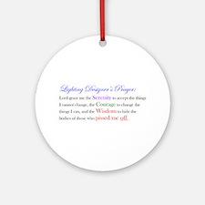 Light Designer Prayer Ornament (Round)