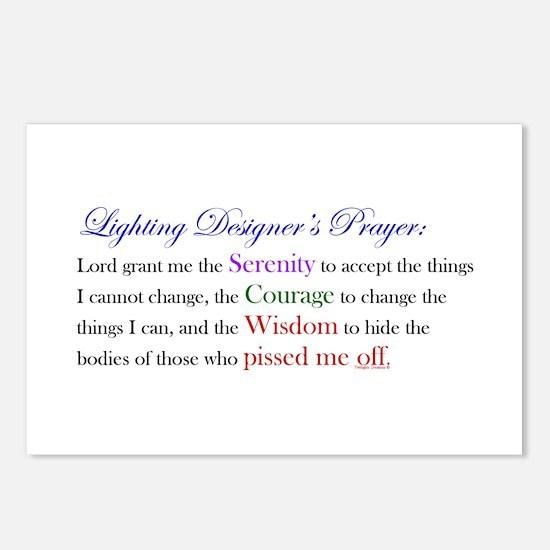 Light Designer Prayer Postcards (Package of 8)